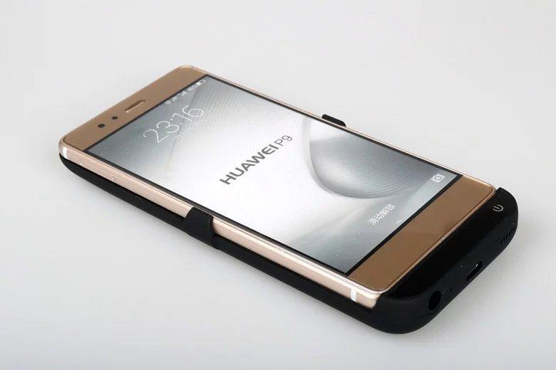 Цена за Eyoube для Huawei P9/P9 плюс 8000 мАч Перезаряжаемые внешний Батарея крышки резервного Зарядное устройство чехол обновления Мощность банк Для P9 плюс