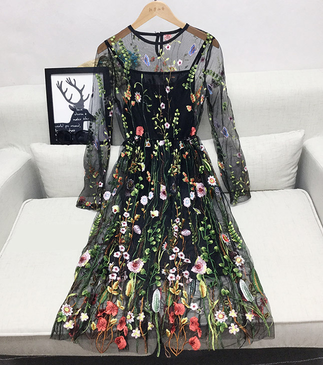 Интернет Магазины Платье С Вышивкой
