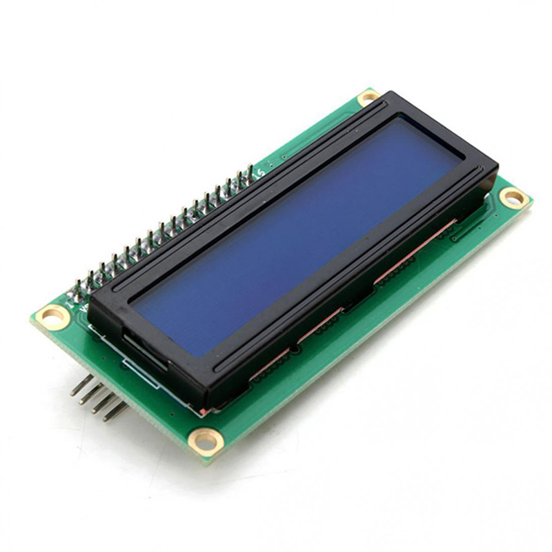 1PCS LCD1602 16x2 HD44780 Character LCD /w IIC/I2C Serial Interface Adapter Module For Arduino Oled Backlight Screen Display 1 3 inch 128x64 oled display module blue 7 pins spi interface diy oled screen diplay compatible for arduino