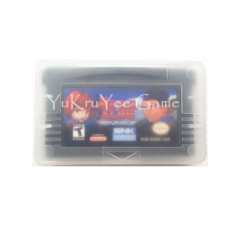 Metal Slug Advance Video Game Cartridge Console Card for Handheld Console US English Version