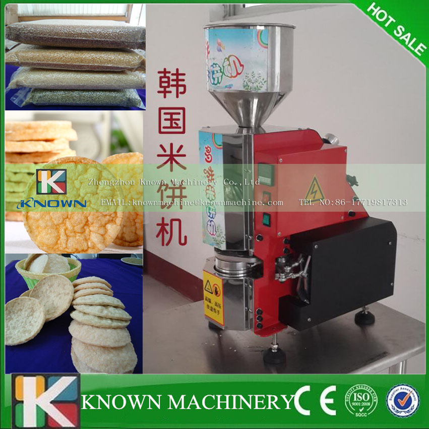 Delicious flavors rice cake machine magic pop popped rice cake machines puffed rice cake machine