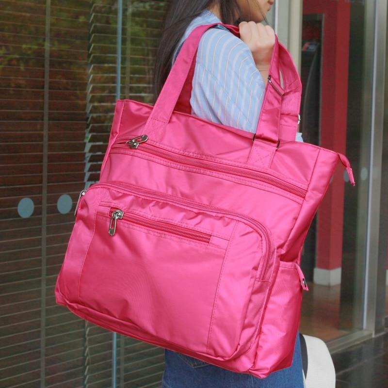 Waterproof nylon new fashion women totes Luggage Travel bag nylon casual Bags Shoulder bags waterproof Large CapacityWaterproof nylon new fashion women totes Luggage Travel bag nylon casual Bags Shoulder bags waterproof Large Capacity