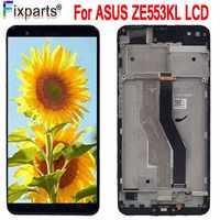 """AMOLED 5,5 """"Neue Display Für ASUS Zenfone 3 Zoom ZE553KL LCD Touch Screen Digitizer Für ASUS ZE553KL LCD Display"""