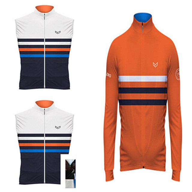 2015 volero newest cycling jersey long sleeve cycling bike clothes cycling  vest for men a0402a146