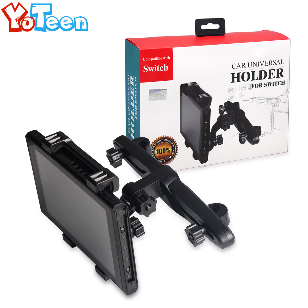 Adjustable for Nintend Switch Car Holder Stand Headrest Mount Holder for Nintendo Switch NS Console Bracket Holder Accessories цена и фото