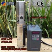 (Modelo 4JTSC25/168-D380/7500) bomba SOLAR sumergible JINTOP, bomba de riego de pozo solar, bomba de agua con imán permanente sincrónico