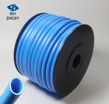Free shipping blue color PVC tube PVC sleeve for tube printer, wire marking machine ,cable ID printer, electronic lettering original evolis r3013 ymcko color ribbon for pebble dualys securion id card printer