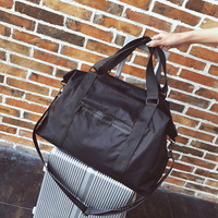 3ad6d1b085 2019 WaterProof Men Travel Bags Large Capacity Oxford Women Clothes Travel  Organizer Unisex Modern Black Grey