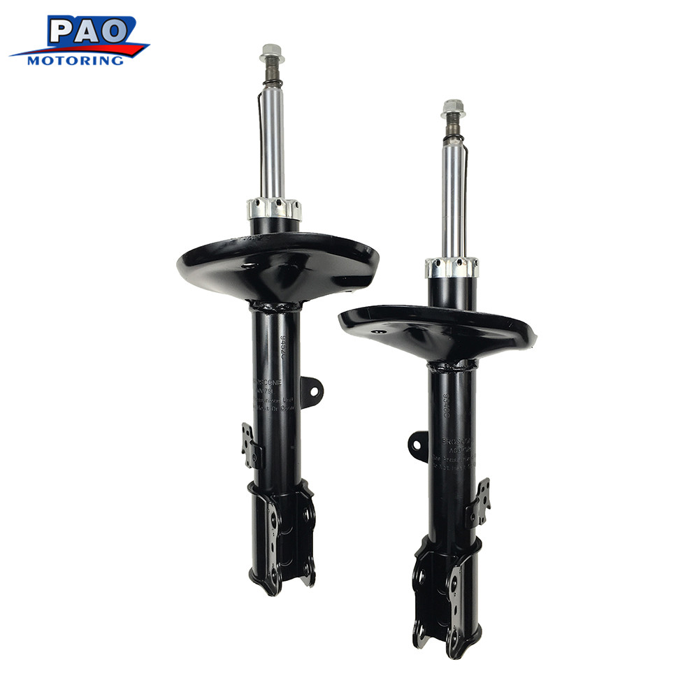 2PC New Front Strut Shock Absorber Left and Right Pair Set Fit for2000 2001 2002 2003 2004 2005 Toyota RAV4 OEM 71454,71453 auto 2001 2005 pontiac sunfire chrome window trim moldings 2pc 2002 2003 2004 01 02 03 04 05 gt