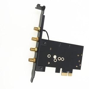 Image 2 - Broadcom bcm94360cd 1300 mbps 듀얼 밴드 802.11ac 데스크탑 pci e 무선 카드 pc wifi 어댑터 bluetooth 4.0