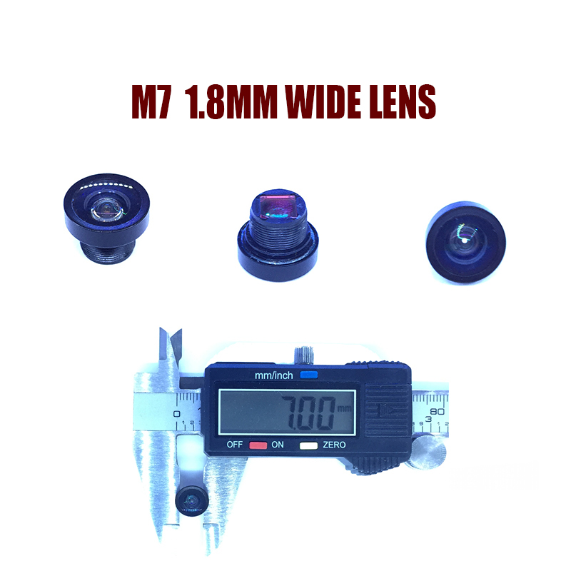 HD mini camera M7-1.8MM Wide-angle lens for cctv video surveillance camera CCD/CMOS/IPC/AHD IP Camera DIY Module Free shipping