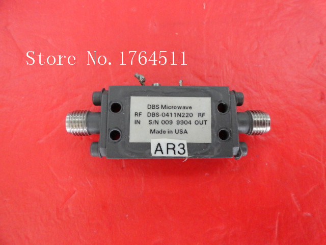 [BELLA] NARDA DBS-0411N220 4-11GHZ 12V SMA Amplifier Supply
