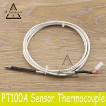 UM2 Ultimaker 2 PT100B Thermocouple Sensor M3*15mm stainless steel header thermistor sensitive German chipset,1.3 meter PT100 B
