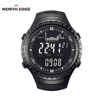 NORTH EDGE Sport Brand Watch Men Outdoor Altitude Climbing Digital Watch Male Military Electronics Watches Relogio