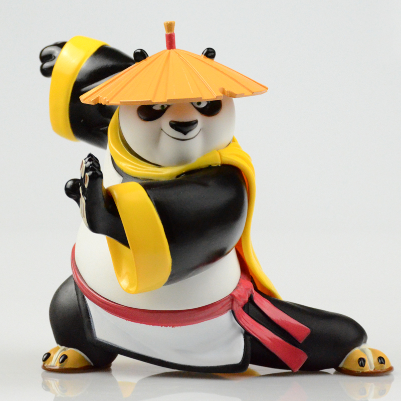 Kung Fu Panda 3 A Treasure Hand Office Dolls Large Savings Cans Dragon Dragon Heroes Model Movie Toys Doll Ornaments T57 movie kung fu panda 3 po bobble head car toys pvc figures collectible model gift 4 10cm kt1896