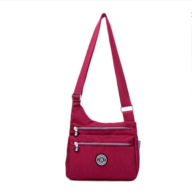 b9e9d95790 ladies multi-functional shoulder bag waterproof nylon fake designer bags  cheap women bags bayan canta