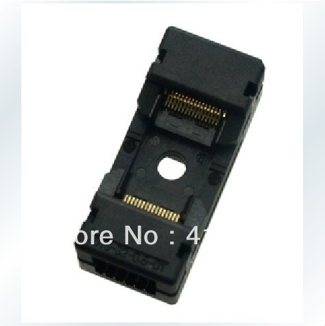 Import OTS-32-0.5-01 burning block programming adapter TSOP32 test, import ots 28 0 65 01 burning seat tssop28 test programming