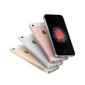 """Image 5 - 원래 잠금 해제 애플 아이폰 SE 4G LTE 휴대 전화 4.0 """"2G RAM 16/64GB ROM iOS 터치 ID 칩 A9 듀얼 코어 12.0MP 스마트 폰"""