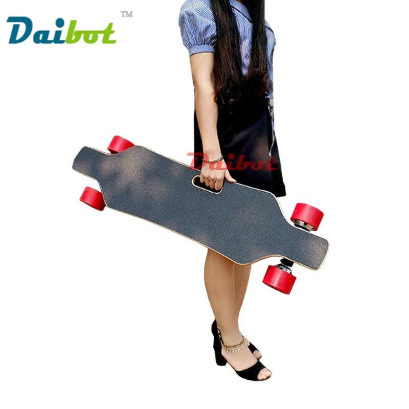 Baterie Samsung 40KM / h 600 W Dual Motors Čtyři kola Elektrická skateboardová deska Hoverboard Longboard Scooter Dálkové ovládání