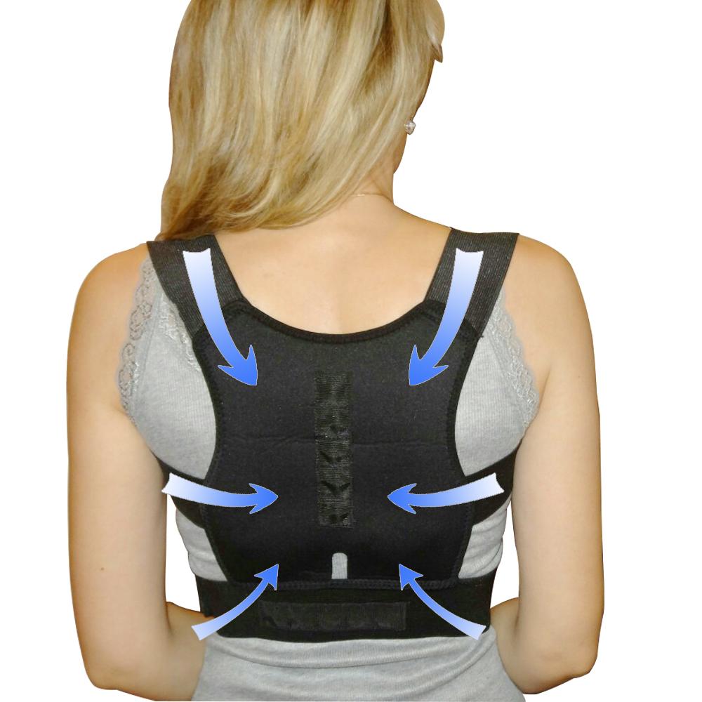HTB1HptwQFXXXXXxapXXq6xXFXXXF - Adjustable Posture Corrector Braces Supports Back Belt Support