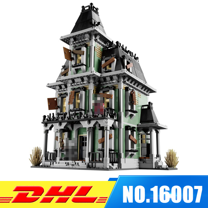 Copy 10228 LEPIN 16007 2141Pcs Monster Fighter The Haunted House Model Set Building Kits Educational Gift the haunted