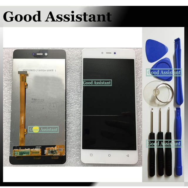 US $21 86 7% OFF|For Gionee F103 pro Full LCD Display + Touch Screen  Digitizer Assembly Replacement + Tracking number White +Tools-in Mobile  Phone