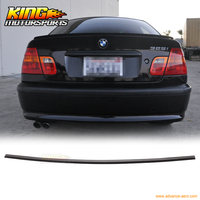 For 1999 2005 BMW E46 3 Series 4Dr PV Style Unpainted Trunk Spoiler PUF