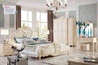 Цена 8216 оптовая цена производителя мебели заводская цена двуспальная кровать роскошный grand кровать деревянная кровать, мебель для спальни