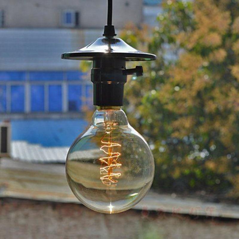 40W Classical Vintage Retro E27 Filament Edison Bulb Light Warm White 220V /110V Antique Incandescent Bulb Lamp P20