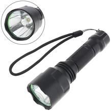 LED Flashlight C8 Waterproof LB-XL T6 500 Lumens 5 Modes 6500K 500LM for Ourdoor Camping Riding Illumination