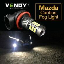 цена на 1pcs Car LED Lights Bulb Lamp H8 H11 9006 HB4 H16 For Mazda 3 Axela 2 6 8 CX-5 cx5 cx 5 7 Atenza 323 626 MX5 CX3 RX8 CX7 CX4