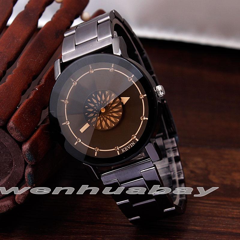 Relojes Hombre Stainless Steel Fashion Men's Quartz Wristwatch Men Clock Business Round Case Hour Watch Relogio Masculinos