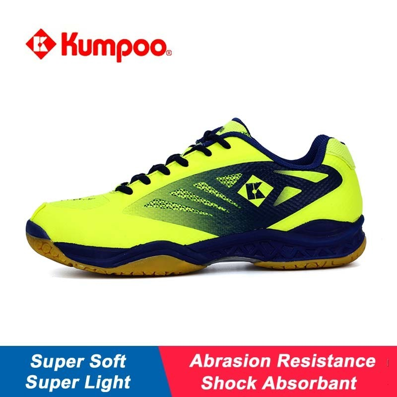 Professional Kumpoo Unisex Shoes Badminton Light Cushioning Comfortable Sports Sneakers for Men Women Breathable KH-205 L799OLC