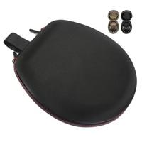 High quality Hard Carrying Case EVA Shockproof Portable Storage Box For Sennheiser MOMENTUM Headset Headphones Black Brown Color
