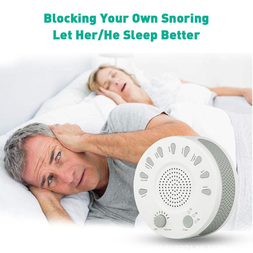 Insomnia Cure White Noise Sleep Aid Machine Help Fast Autumn Asleeping Baby Sleep Pacifiers Rechargeable Sleep Timer Relax свитшот print bar sleep autumn