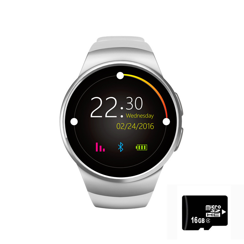 Original kingwear smartwatch 16GB card set fitness watch women for samsung galaxy watch smart watch mujer