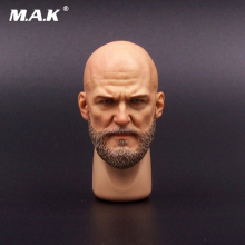 1/6 Scale Model Sculpt A-20 Male Head Male Head Sculpture Bearded Mango Transformer Villain For 12 Man Action Figure Toys лонгслив mango man mango man he002emiikg6