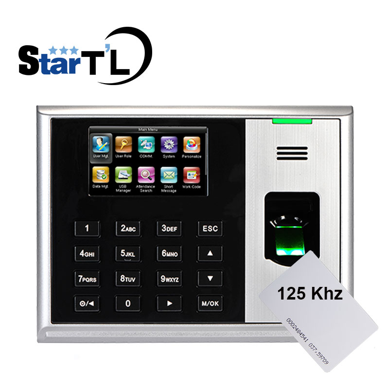 ZK S30 Biometric Fingerprint Time Attendance With 125khz Rfid Reader Employee Electronic Attendance