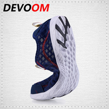 DEVOOM Breathable Men&mujer Casual Shoes Fashion Slip On Beach Shoes Comfortable Soft Mesh Lightweight Outdoor Shoe Male Sapatos