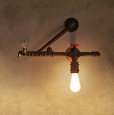 ๏Утюг промышленных <b>Винтаж</b> Эдисон бра водопровод стены ...