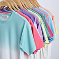 2016 Summer T shirt Women New Loose Short Sleeve Students Best Friends T Shirt Tops Colors Patchwork Couple T shirt For Ladies