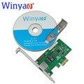 Wyi210t1 winyao pci-e x1 gigabit ethernet placa de rede (nic), Porta RJ45 de cobre, PCI Express 2.1x1, intel i210-t1 1000 m i210t1 lan
