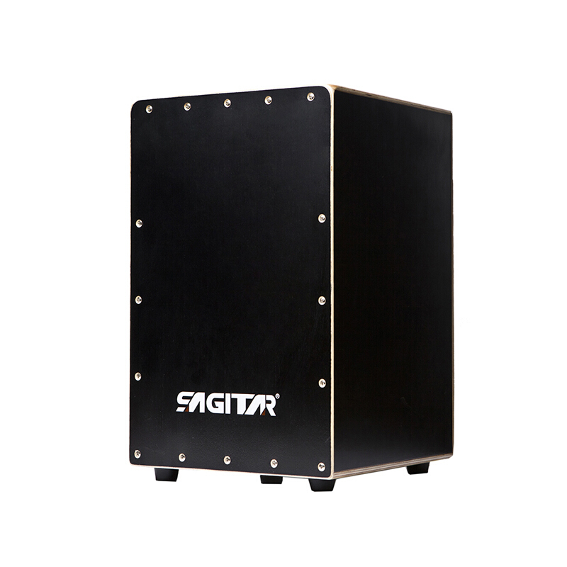 SAGITAR High-quality (free gifts) Box Drum Flamenco cajon hand drum,birch wooden professional Instrument with Stings Rubber Feet
