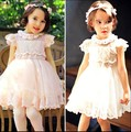 Girl's summer sweet  lace  princess  dress  , girl dress lace , girls dresses , 5pcs/lot  RCZ02
