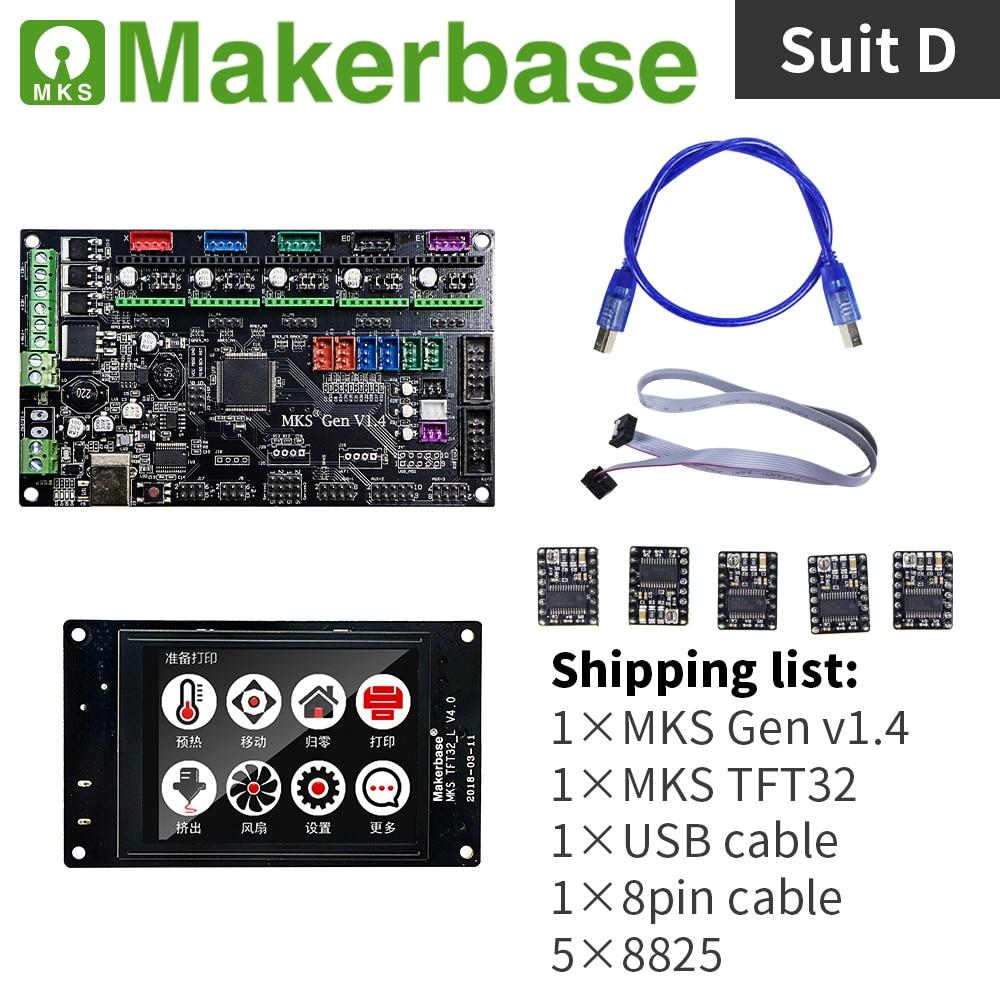 Kits MKS Gen v1.4 et MKS TFT32 V4.0 pour imprimantes 3d développés par Makerbase - 4
