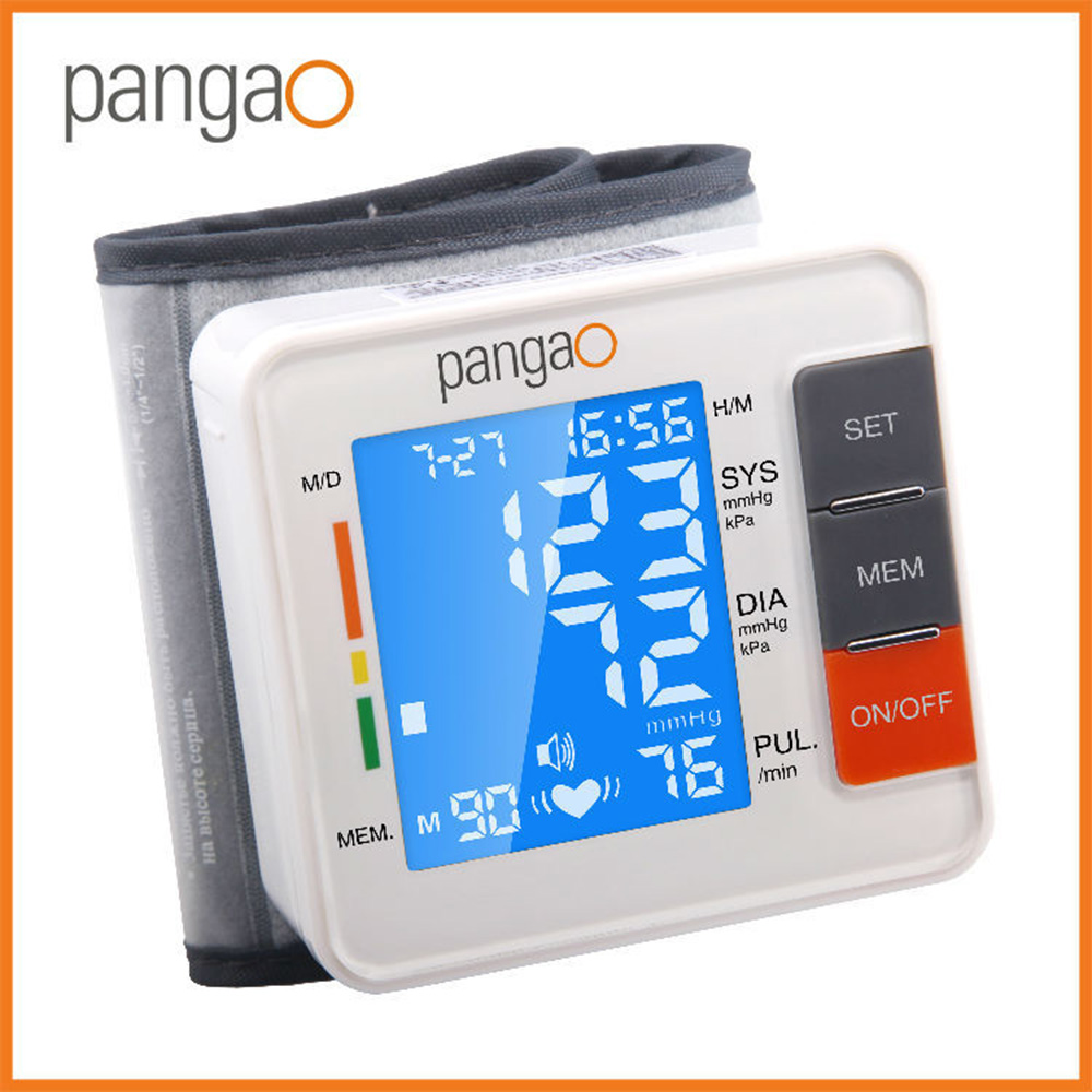CE FDA Automatic Wrist Digital Blood Pressure Monitor Tonometer Meter for Measuring And Pulse Rate Machine For Health Care health care wrist pressure monitor digital blood glucose watch