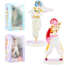 Anime Re: Life in a Different World from Zero Rem Ram in arabien Night Ver., 22CM Figurines de princesse Aladdin, jouets, Brinquedos