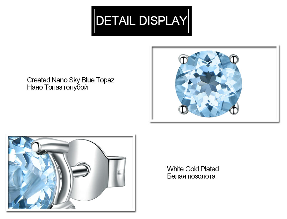 UMCHO-sky blue topaz earringss for womenEUJ002B-1 (7)