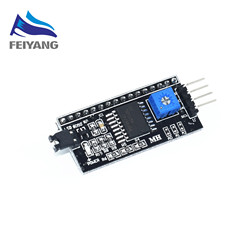 1PCS SAMIORE ROBOT Serial Board Module Port IIC/I2C/TWI/SPI Interface Module 1602 LCD Display