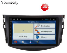Youmecity Octa Core 1024*600 2Din Android 6.0 Car DVD for Toyota RAV4 Audio Video Stereo GPS Navigation Radio RDS 3G 4G Wifi